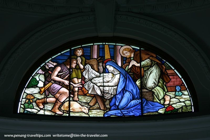 Stained glass, St Joseph's Novitiate