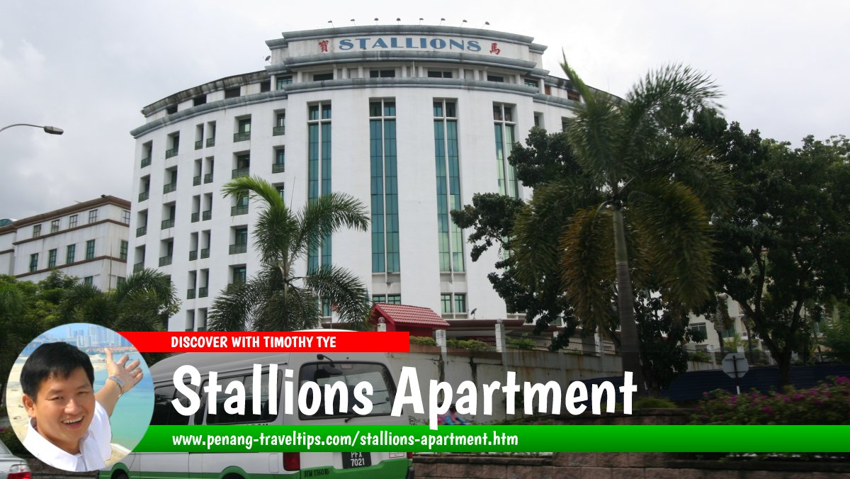Stallions Apartment, Bukit Dumbar, Penang