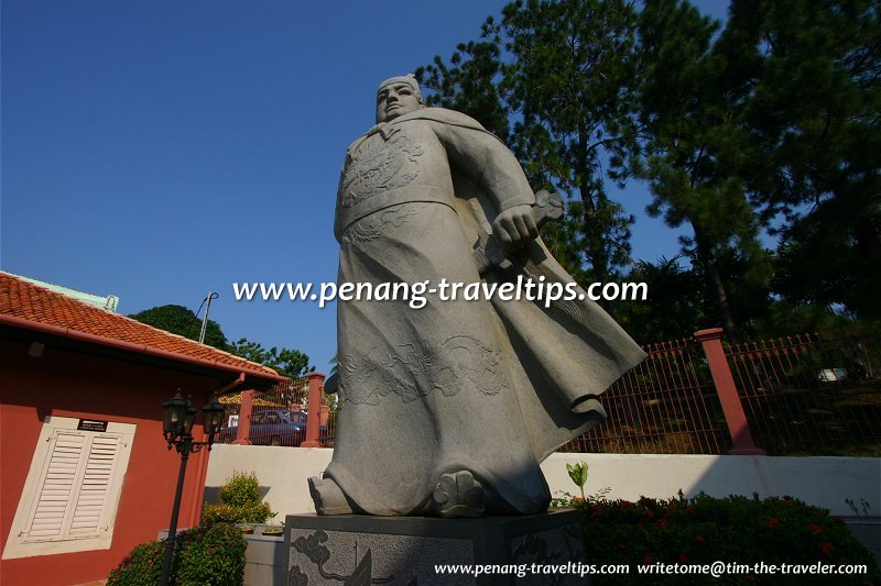 Statue of Admiral Zheng He, Malacca
