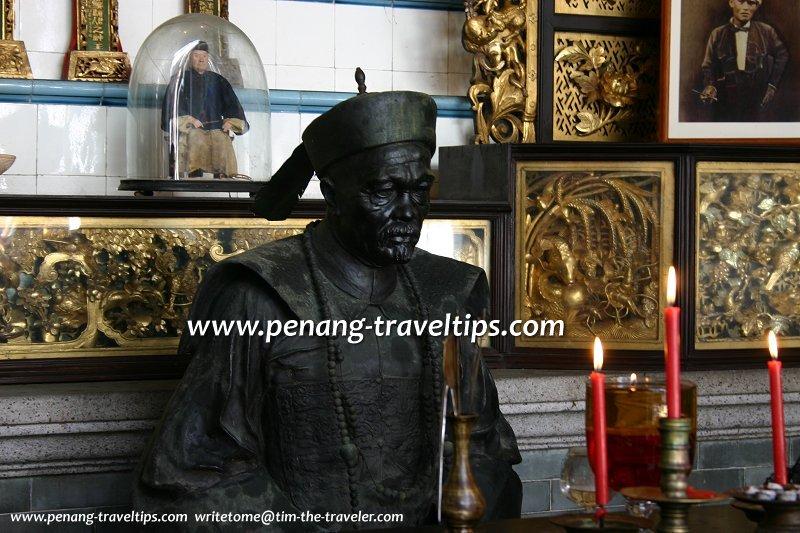 Statue of Chung Keng Kwee