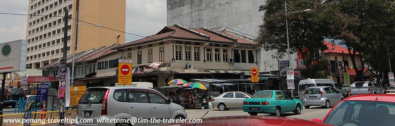 A street in George Town, Penang