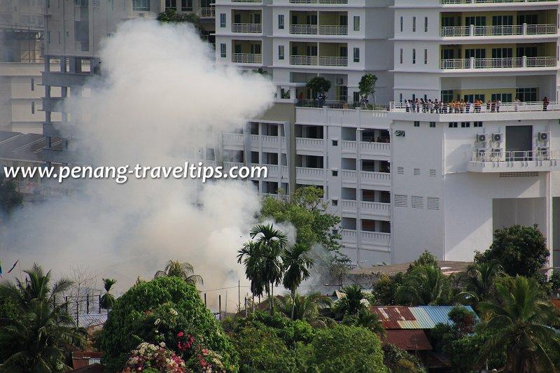 Blaze in Sungai Nibong Kecil