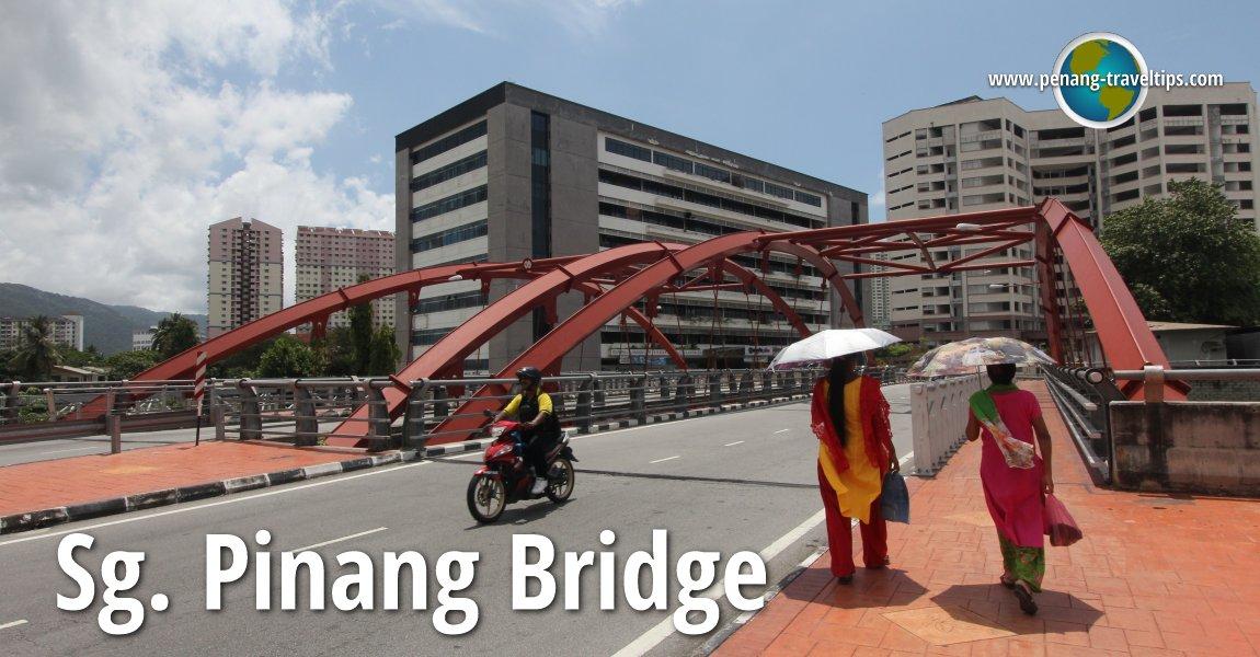 Sungai Pinang Bridge, Penang